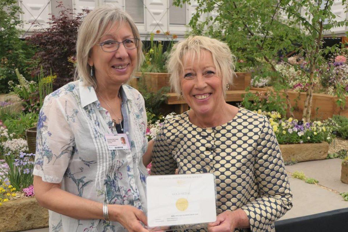 Carol Klein alpine garden society chelsea flower show 2018