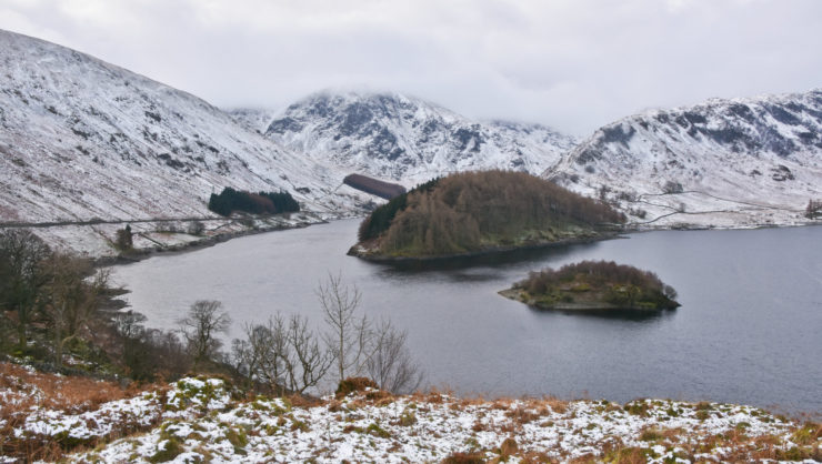 Mardale Head and Harter Fell from Haweswater Reservoir
