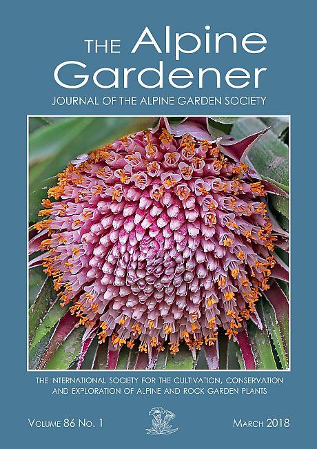 Alpine Garden Society Journal March 2018