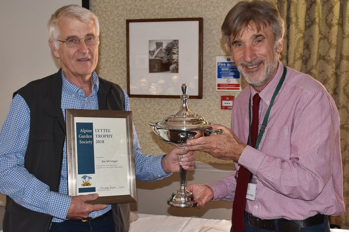 Jim McGregor received the Lytell Trophy