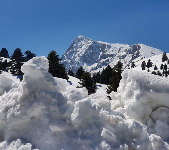Mount Chelmos, Peloponnese, Greece