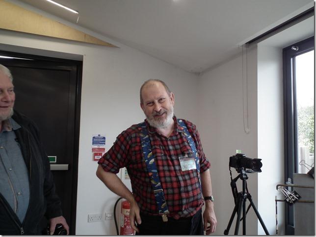 Jon Evans at work