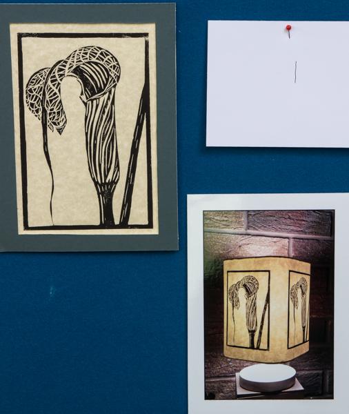 Arisaema lamp design (Exhibitor: Gemma Hayes)