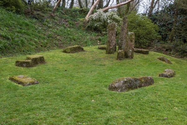 Magic circle, The Garden House, Devon