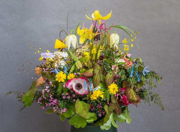 Flower arrangement (Exhibitor: Sue White)