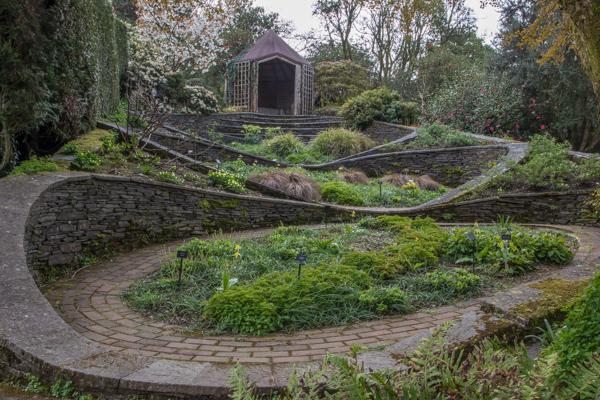 Ovals, The Garden House, Devon