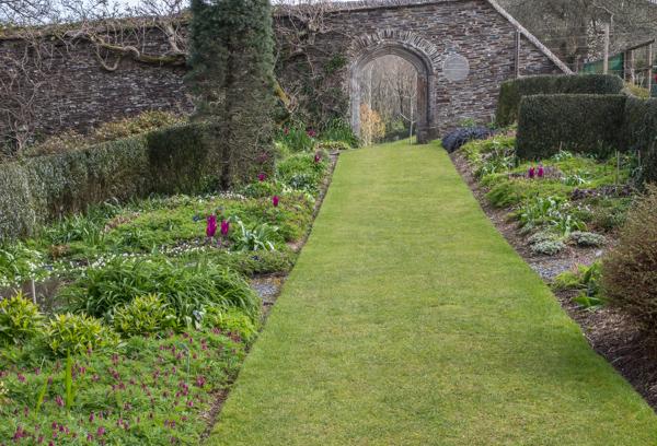 Walled Garden, The Garden House, Devon