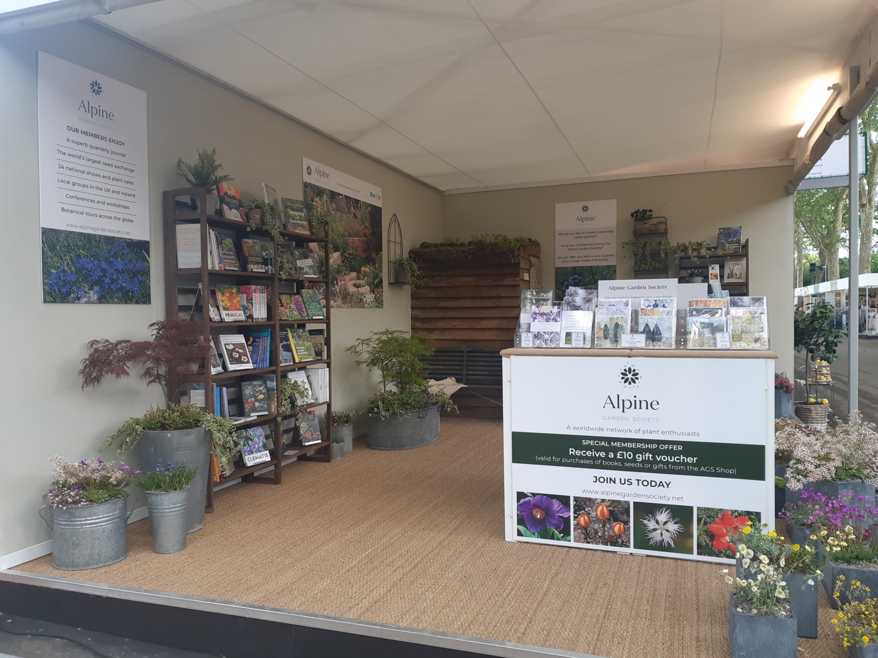 The AGS at RHS Chelsea 2019 - Alpine Garden Society