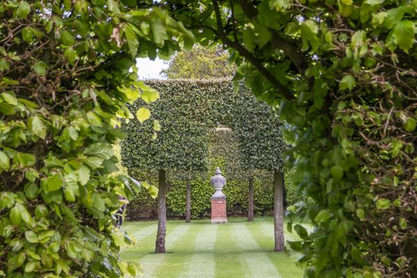 Long walk through the gardens