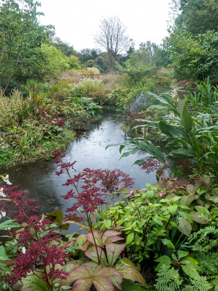 The pools at the bottom of the garden, Wildside Nursery