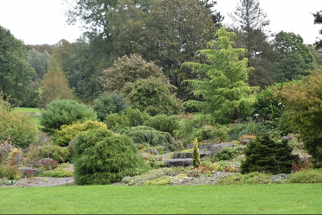 Threave rock garden