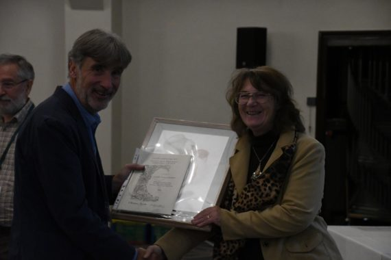 Caroline Jackson-Houlston awarded for the Artistic Section