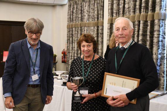 John & Brenda Foster receive the Local Group Award