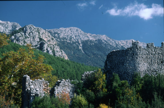 Tahtali Mountains