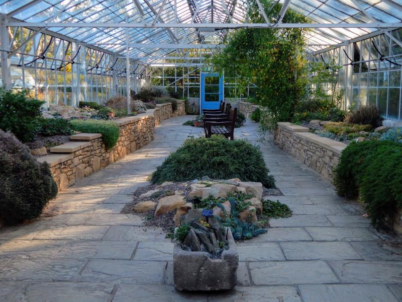 St Andrews Botanic Garden Alpine House by Vida Svahnstrom