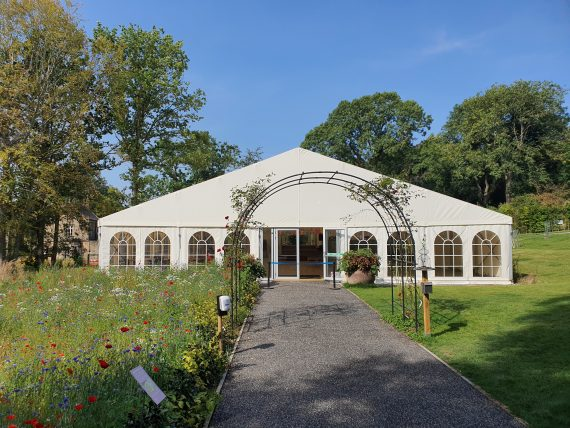 Marquee at Harlow Carr